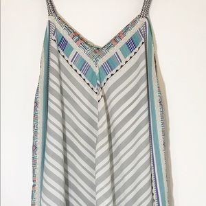Maurices Cold Shoulder Boho Flowy Top Size 3 FLAW